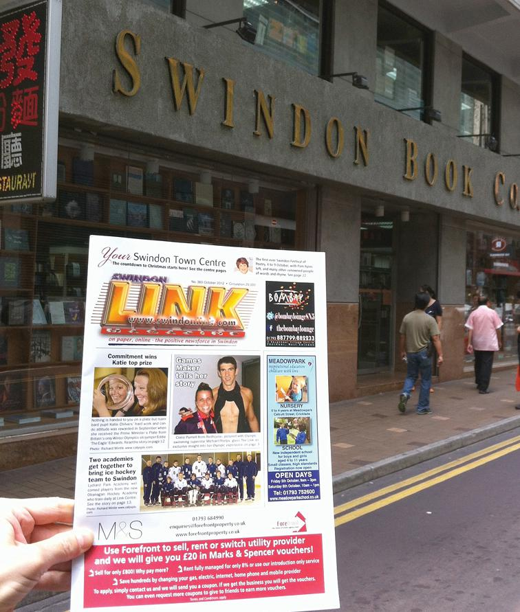Hong Kong book store named after Swindon falls victim to Covid-19 loss of trade
