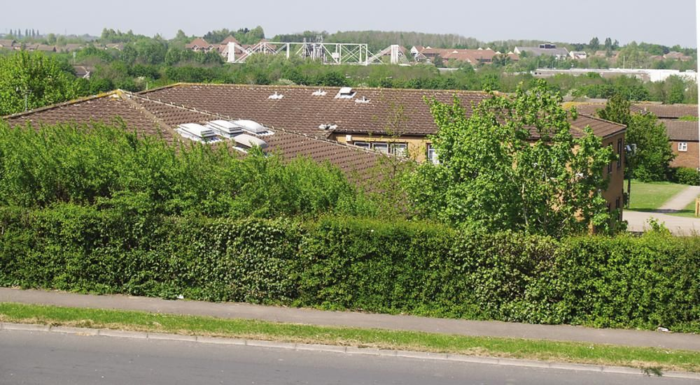 Toothill Primary School, Shaw Ridge and Link Centre in the West Swindon landscape