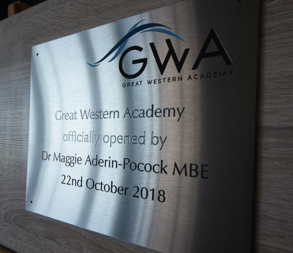 British space scientist joins Great Western Academy students for official opening