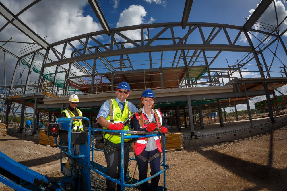 Building work for Wichelstowe secondary school is 'picking up pace'