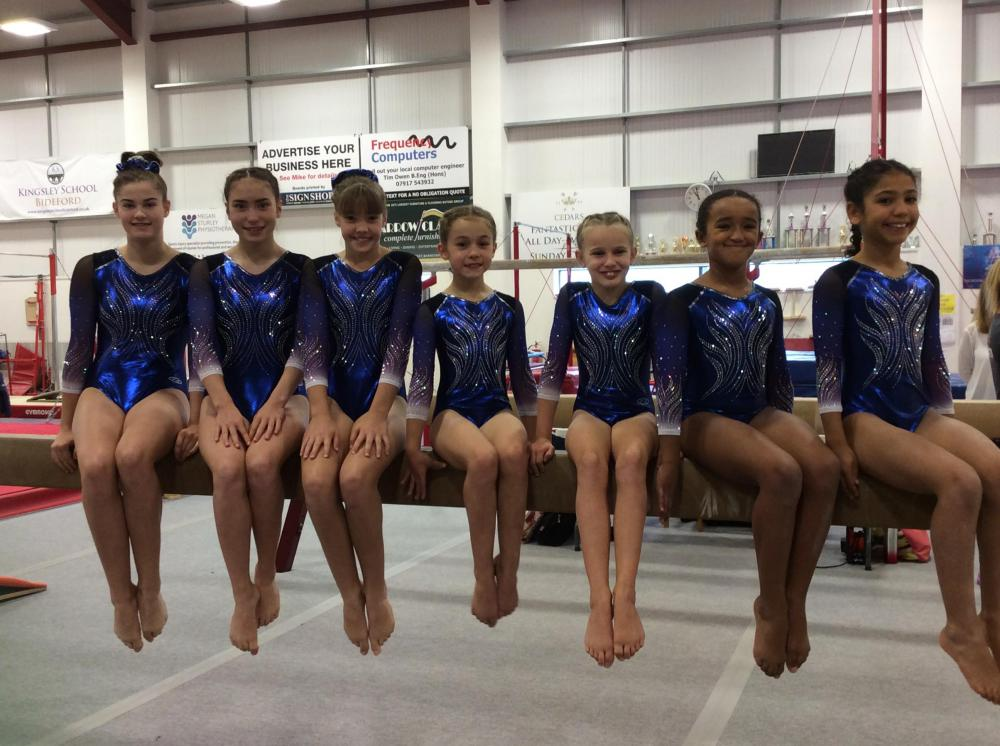 Swindon gymnasts hailed as 'best in west' at England championships