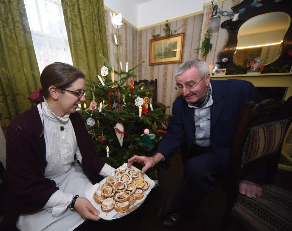 Visitors step back in time to experience a Victorian Christmas