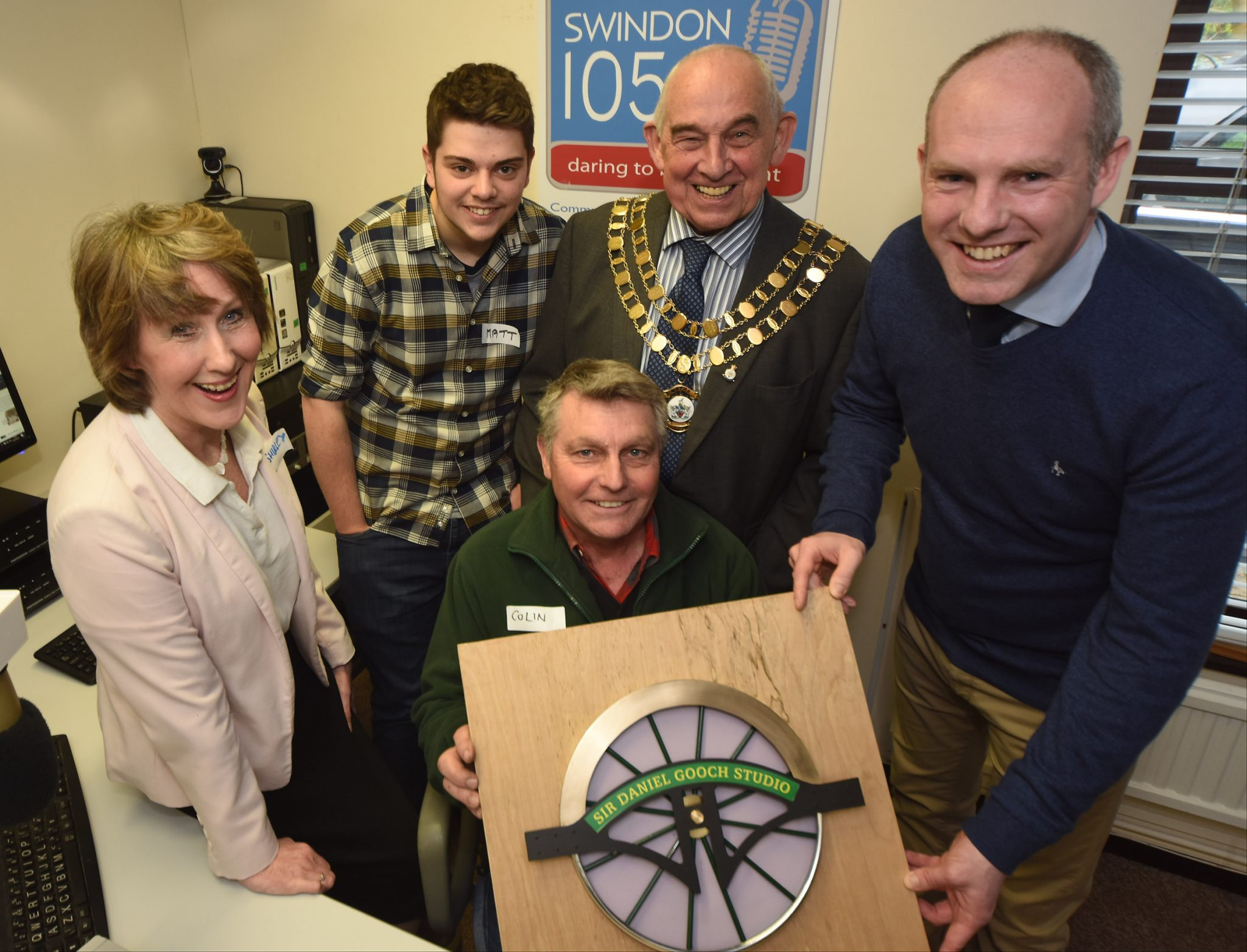 Community Radio service Swindon 105.5 celebrates nine years on air with launch of new studio