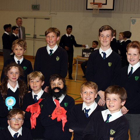 Prior Park pupils go to the polls