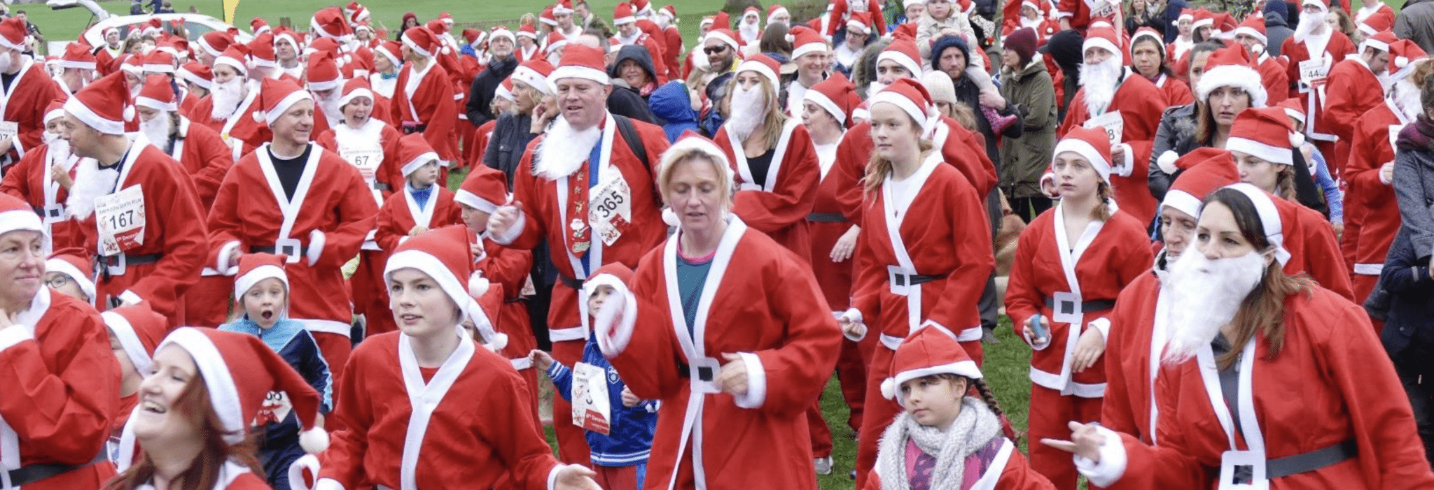 Sign up to join a gaggle of Santas