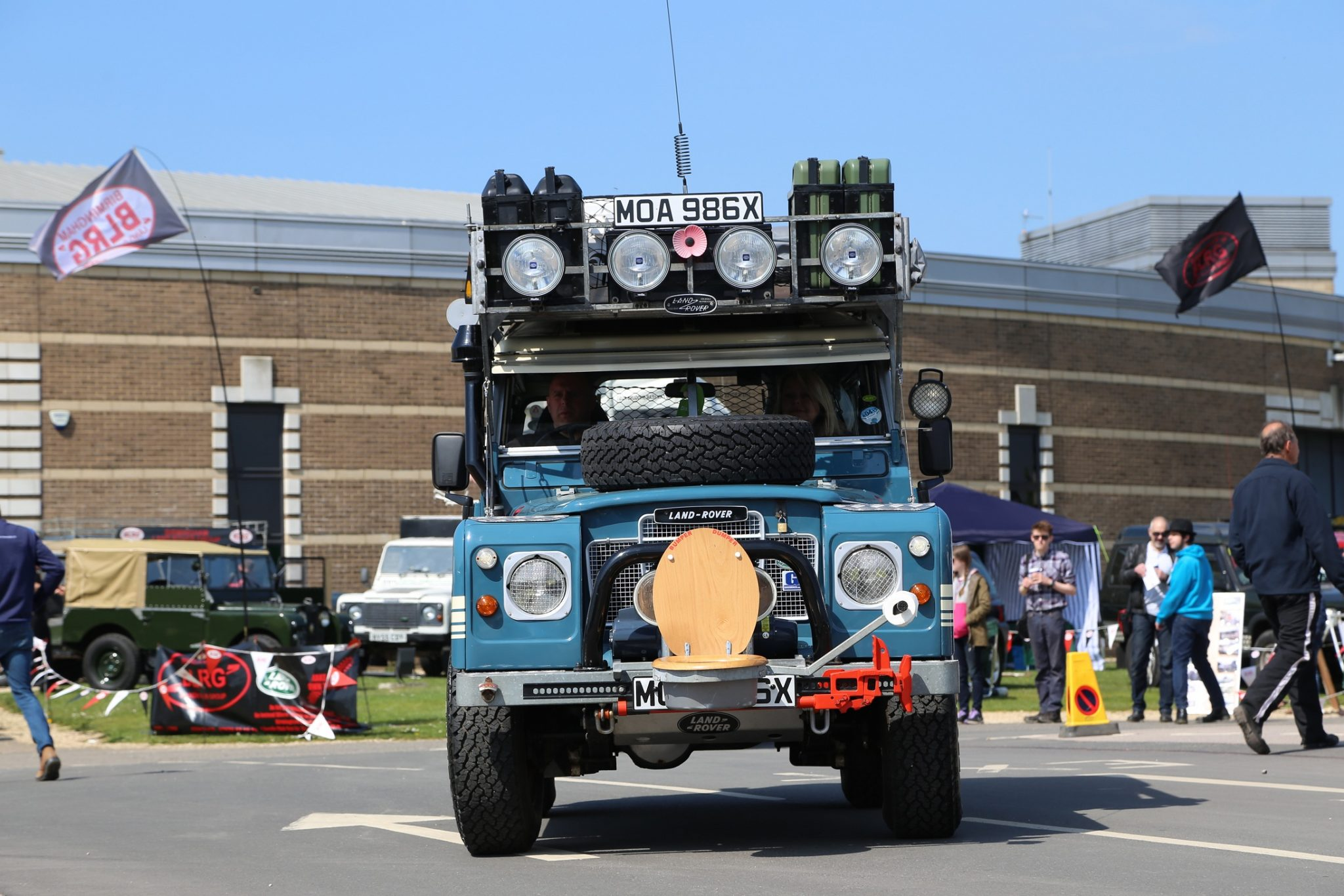 The Gaydon Land Rover Show returns in May for 70th celebrations