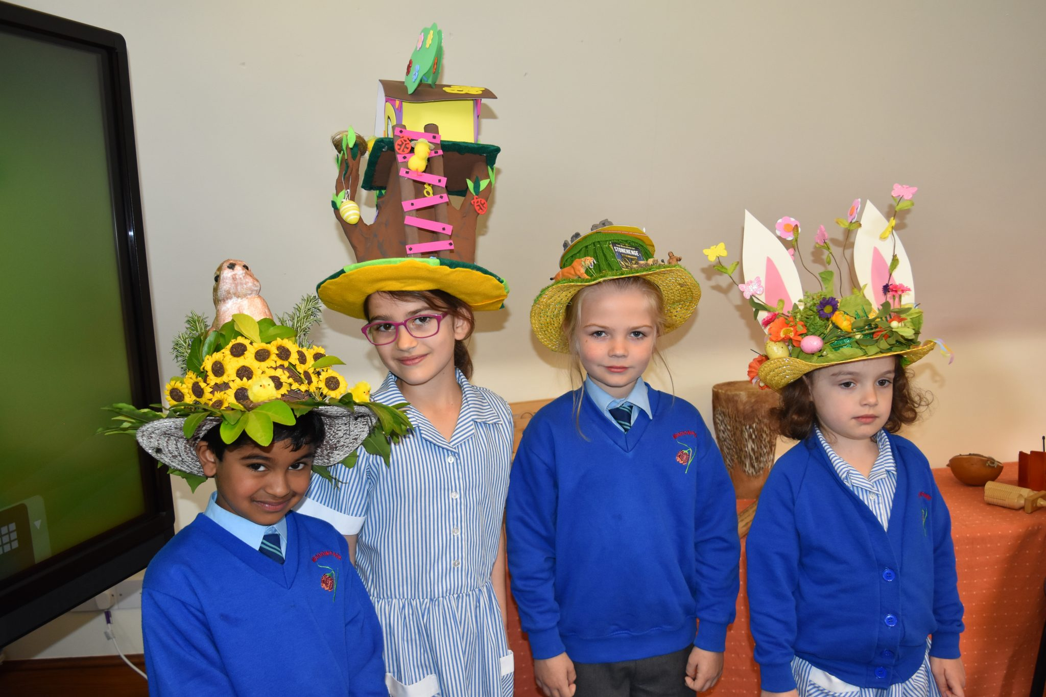 Primary school students take to the stage for Easter Bonnet Parade