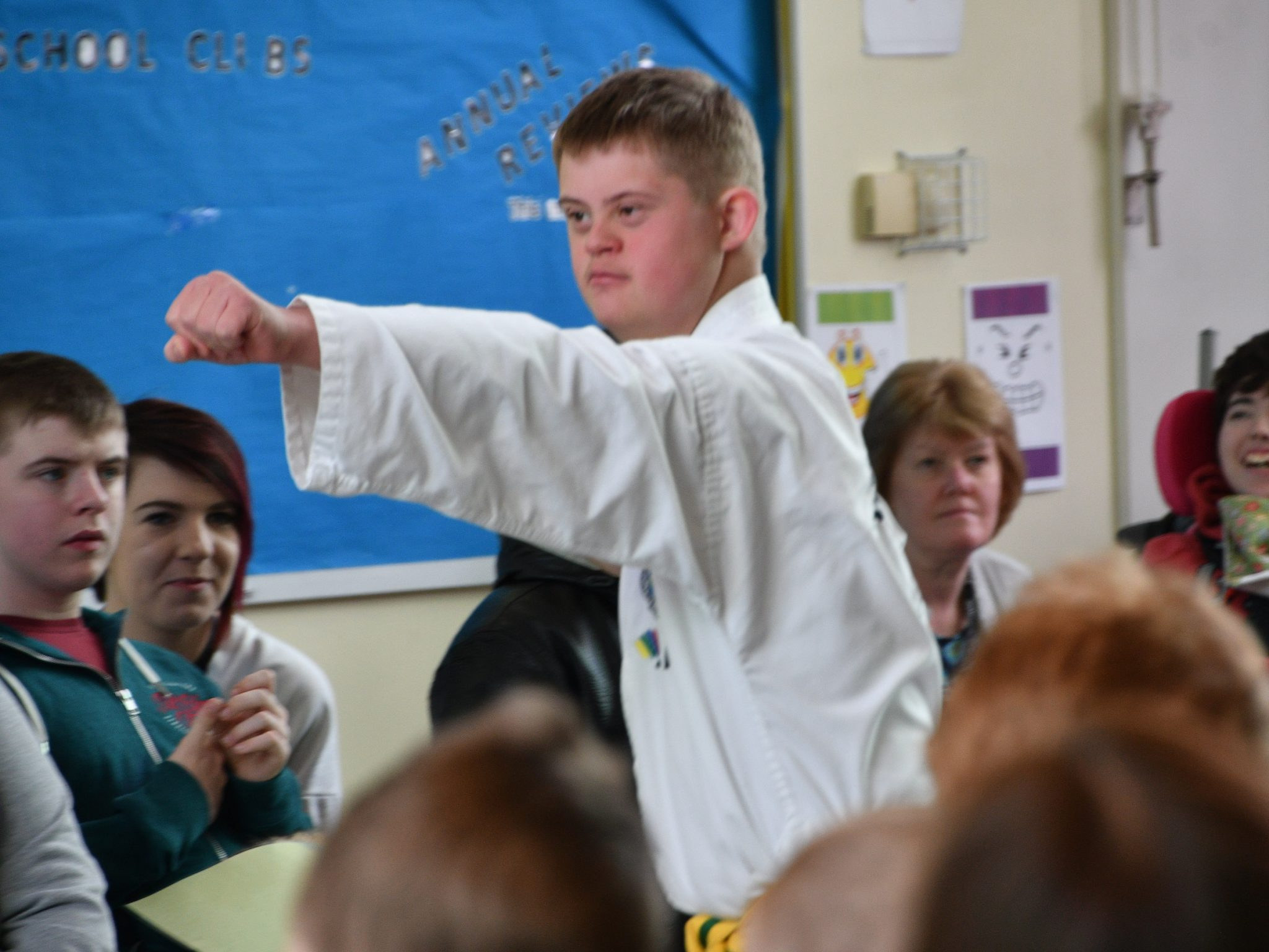 Local Tae Kwon Do group packs a punch for Uplands pupils