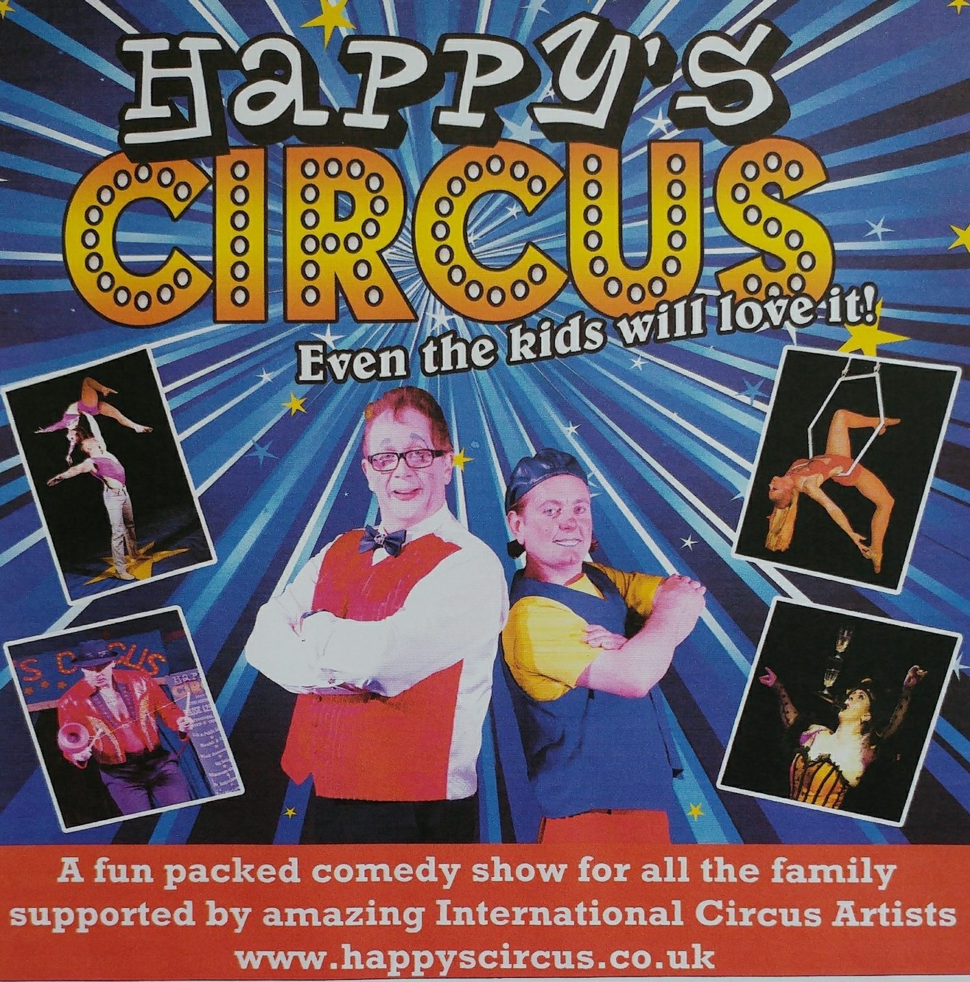 Local primary school brings the circus to town with fun for all the family
