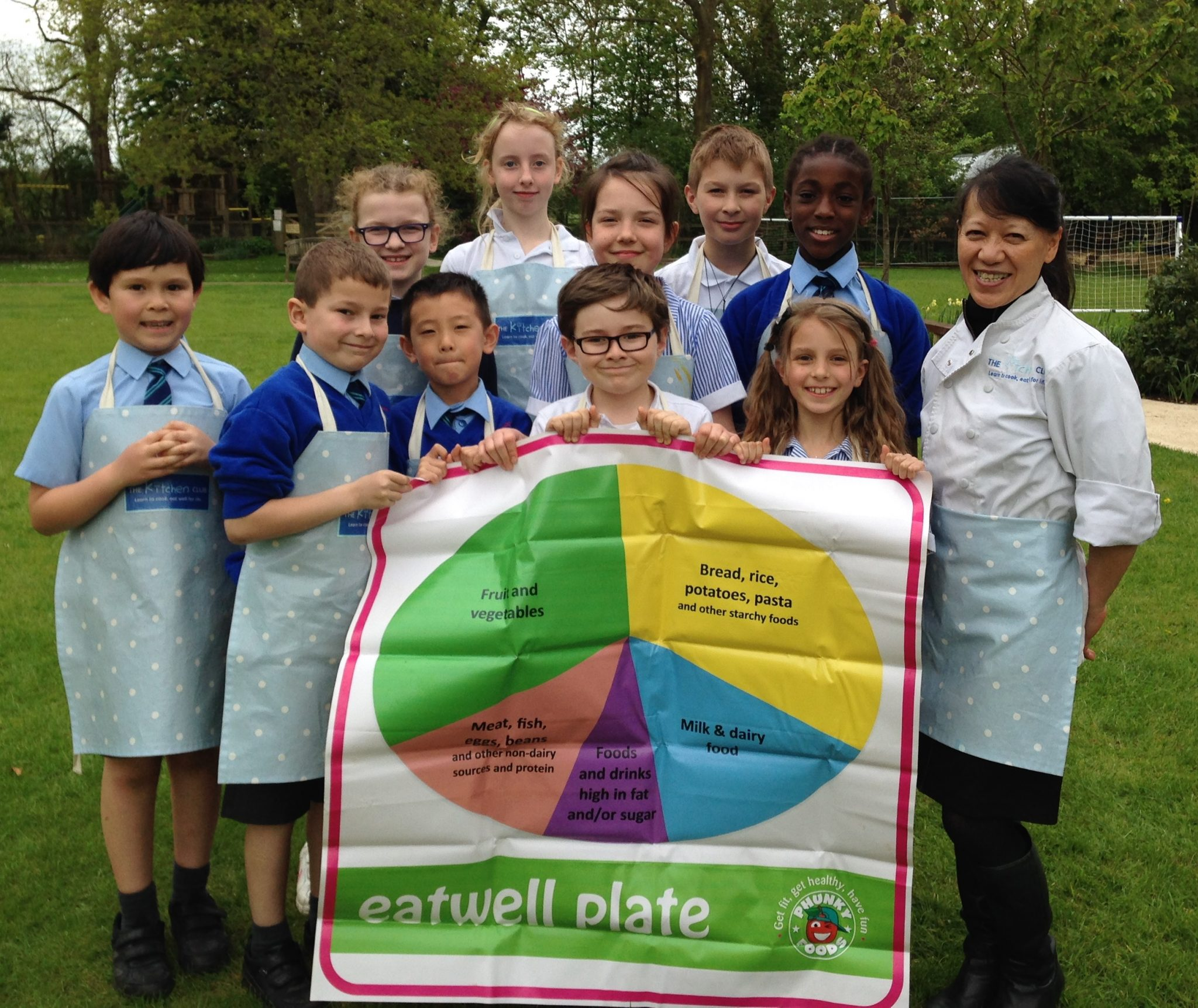 Primary schools take to the kitchen with new healthy eating initiative