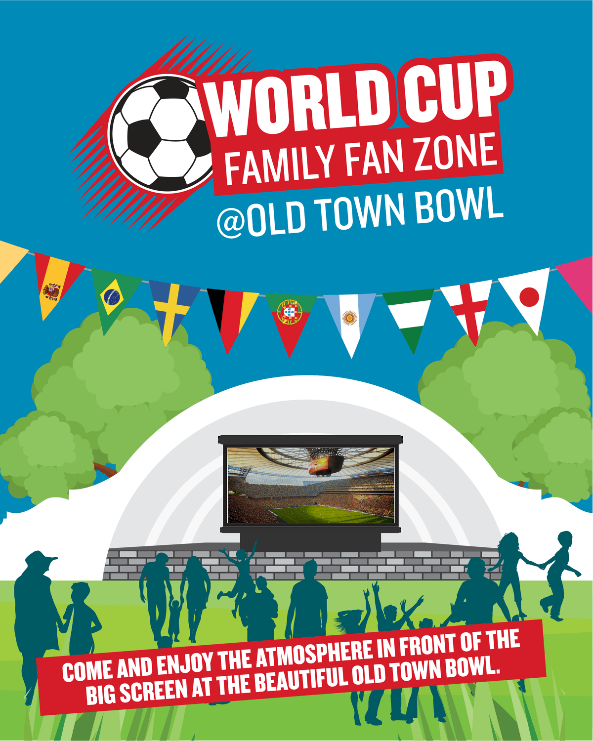 World Cup fever to hit Swindon with special screenings of England games at the Old Town Bowl