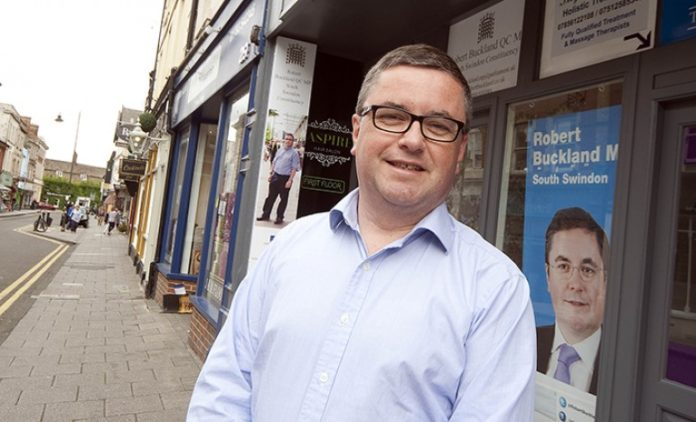Robert Buckland MP backs charity's call to get young people more active